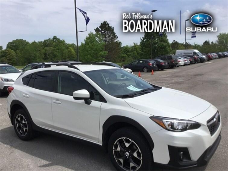 Used 2018 Subaru Crosstrek 2.0i Premium SUV JF2GTABC9JH220728 For Sale Boardman, OH