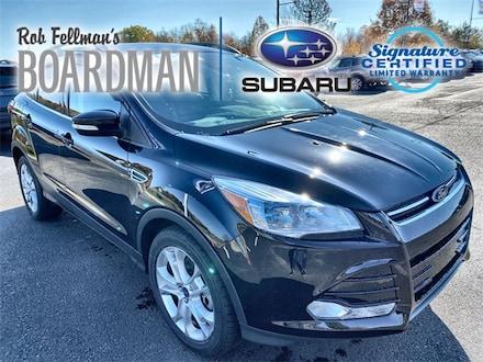 Featured Used 2016 Ford Escape Titanium SUV 1FMCU0J9XGUA82333 for Sale in Boardman, OH