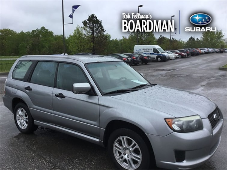 Used 2008 Subaru Forester 2.5X Sports SUV JF1SG66618H726102 For Sale Boardman, OH