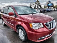 Bargain Used 2012 Chrysler Town & Country Touring Minivan/Van 2C4RC1BG5CR207752 for Sale in Boardman, OH