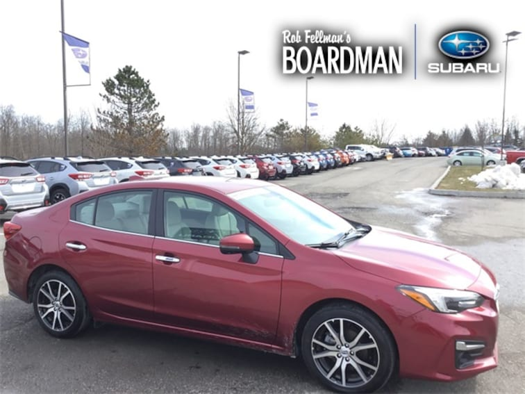 Used 2018 Subaru Impreza 2.0i Limited Sedan 4S3GKAN61J3617998 For Sale Boardman, OH