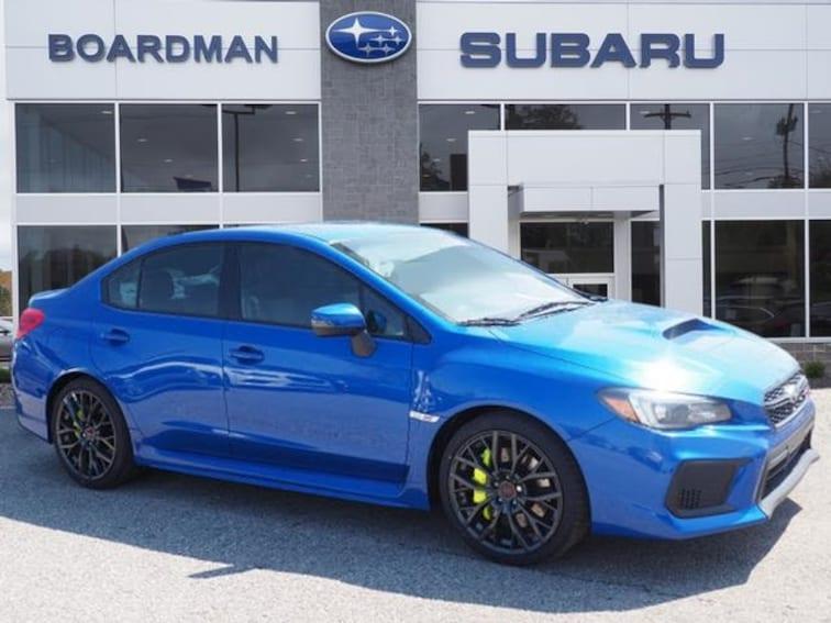 New 2018 Subaru Wrx Sti Limited With Lip For Sale Or Lease Boardman