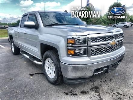 Featured Used 2015 Chevrolet Silverado 1500 LT LT1 Truck 1GCVKREH7FZ315806 for Sale in Boardman, OH