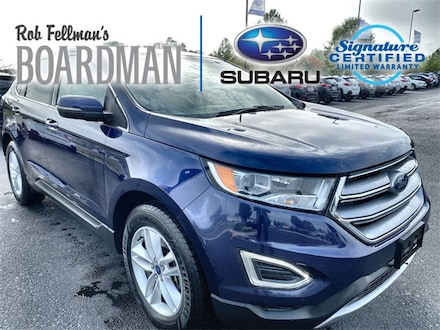 Featured Used 2016 Ford Edge SEL SUV 2FMPK4J93GBC57395 for Sale in Boardman, OH