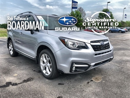 Featured Used 2018 Subaru Forester 2.5i Touring SUV JF2SJAWC3JH586517 for Sale in Boardman, OH