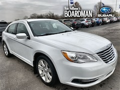 Bargain Used 2013 Chrysler 200 Touring Sedan 1C3CCBBB3DN579741 for Sale in Boardman, OH