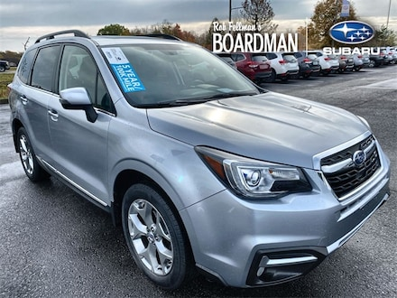 Featured Used 2018 Subaru Forester 2.5i Touring SUV JF2SJAWC8JH429808 for Sale in Boardman, OH