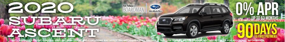 MAY SAVINGS ON SUBARU ASCENT