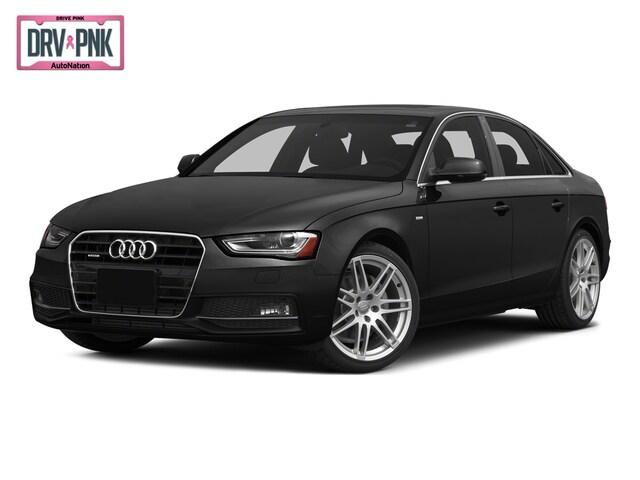 2015 Audi A4 Premium 4dr Car