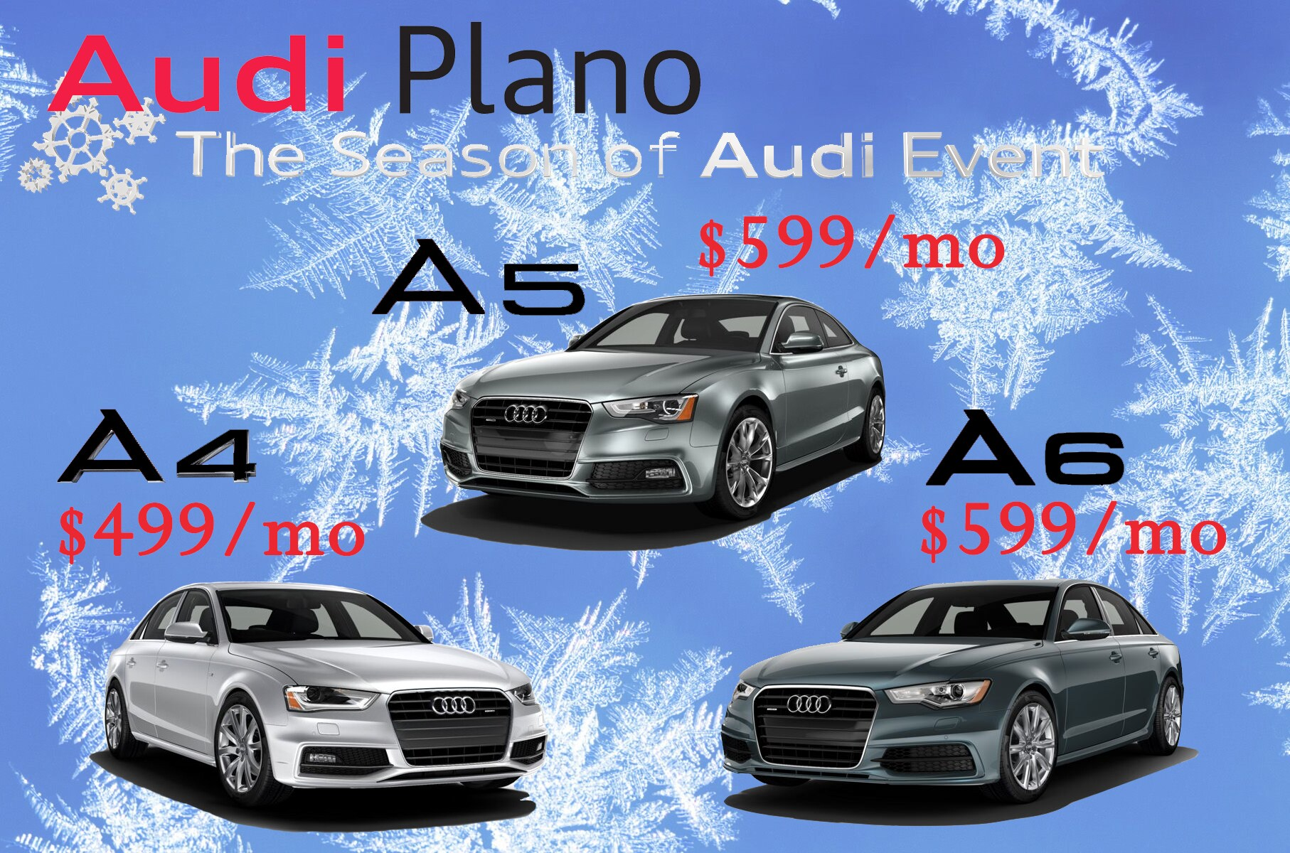 audi a4 a5 a6 lease offers plano tx. Black Bedroom Furniture Sets. Home Design Ideas