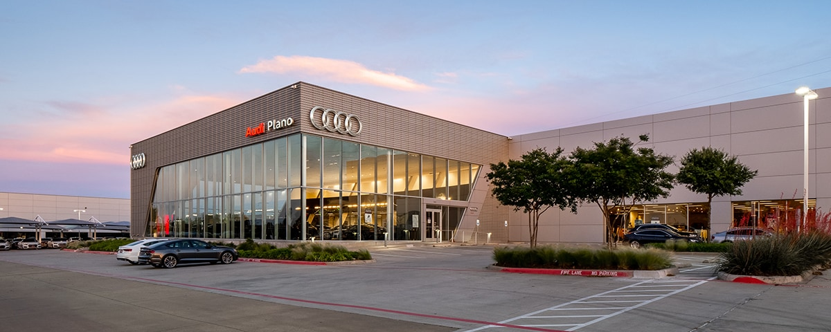 Exterior View of Audi Plano