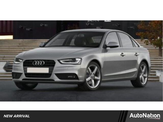 2014 Audi A4 Premium 4dr Car
