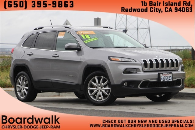 2018 Jeep Cherokee Limited SUV