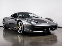 Pre-Owned 2012 Ferrari 458 Italia Coupe in Plano, TX