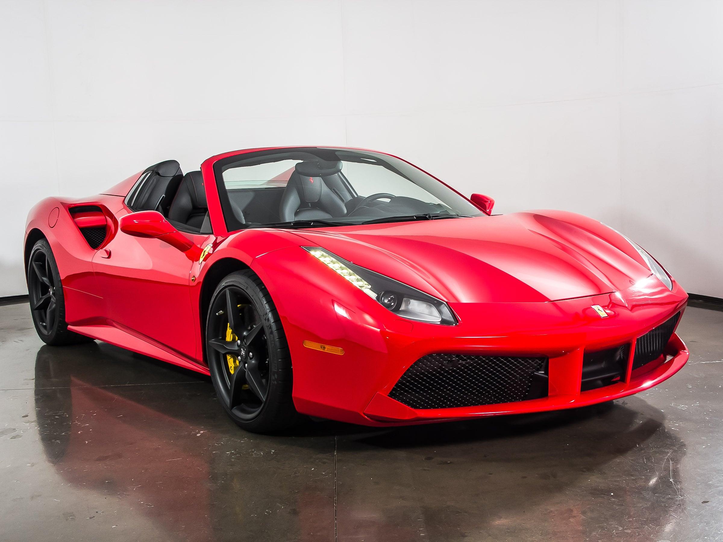 Used 2016 Ferrari 488 Spider For Sale Plano, TX
