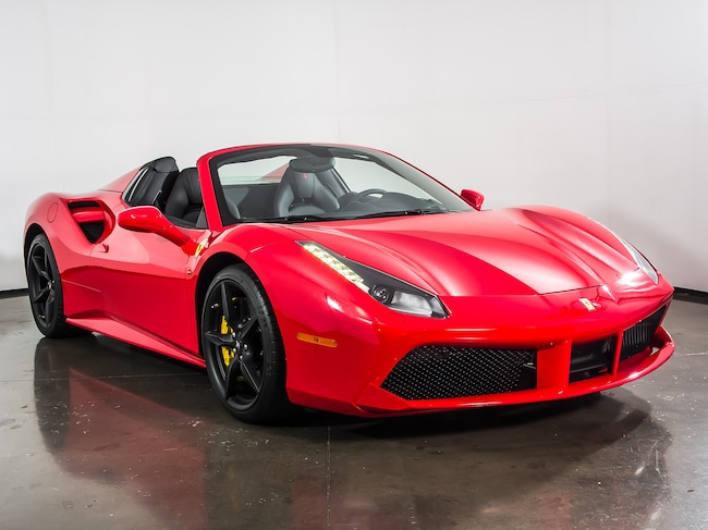 Certified Pre Owned 2016 Ferrari 488 Spider Convertible For Plano Texas