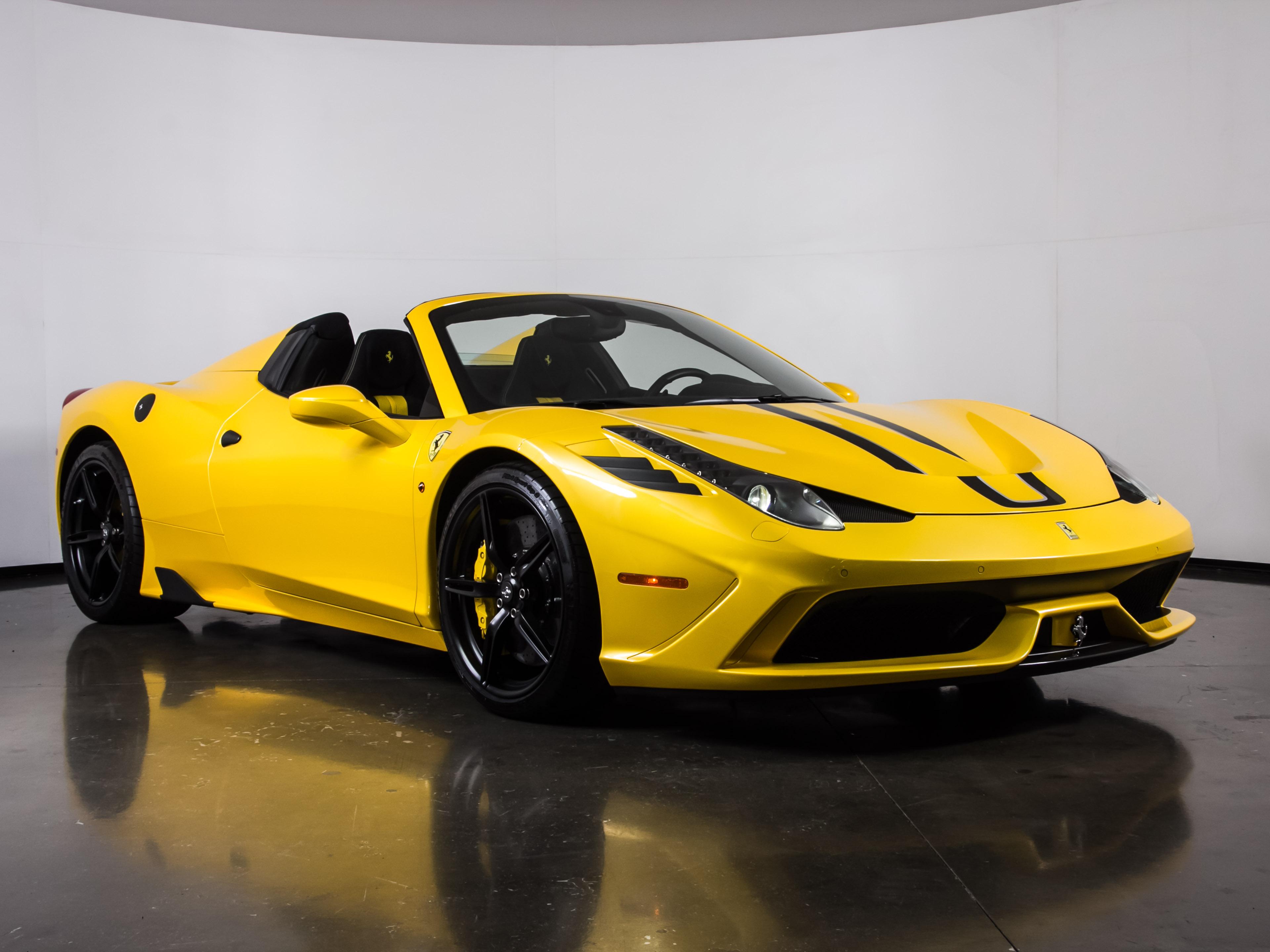 2015 Ferrari 458 Speciale >> Used 2015 Ferrari 458 Speciale A For Sale Plano Tx Vin Zff78vha7f0212406