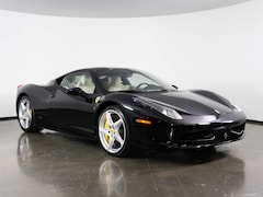Pre-Owned 2013 Ferrari 458 Italia Coupe in Plano, TX