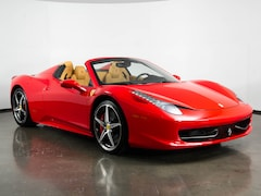 Pre-Owned 2014 Ferrari 458 Spider Convertible in Plano, TX