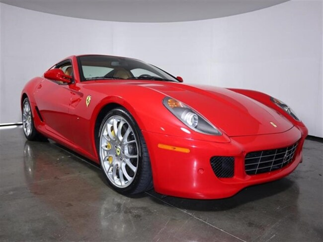 Used 2008 Ferrari 599 GTB Fiorano Coupe For Sale Plano, Texas