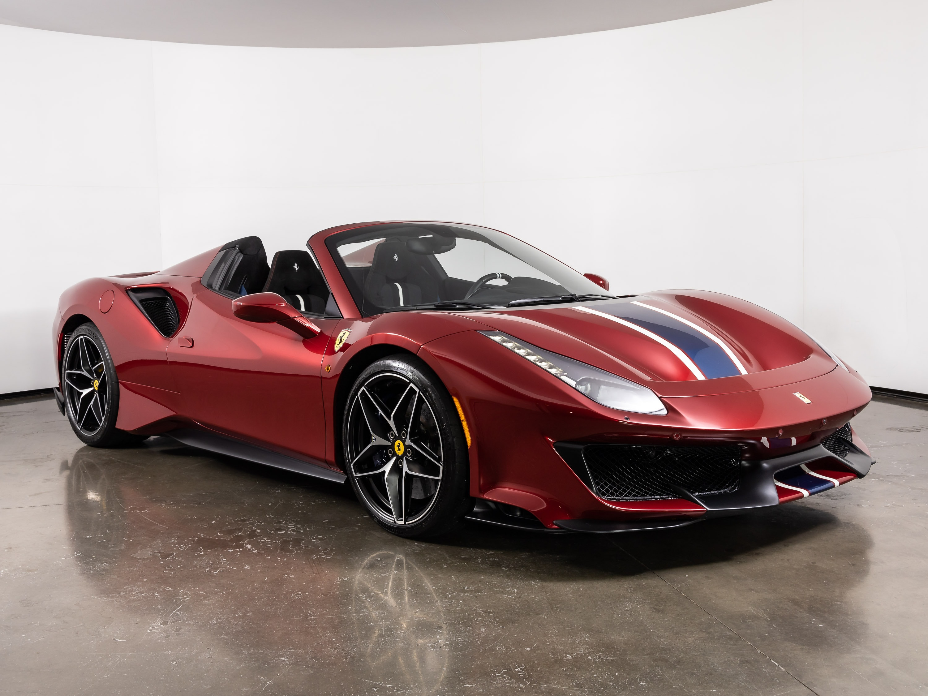 Certified Pre Owned 2020 Ferrari 488 Pista Spider For Sale Plano Tx Stock Fct1308