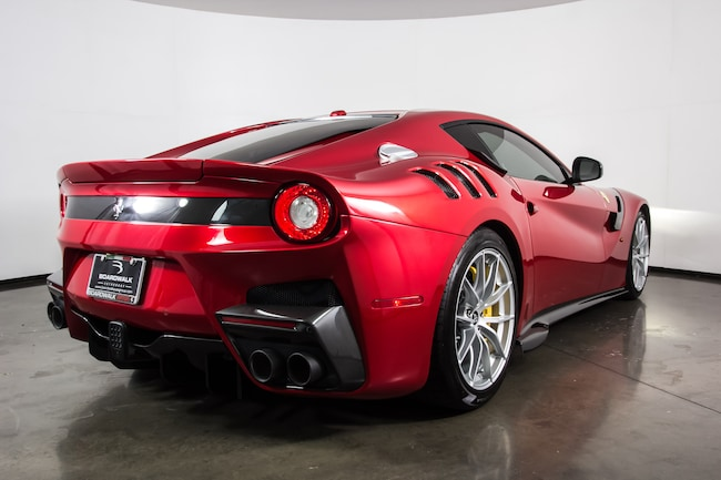 certified pre owned 2017 ferrari f12tdf for sale plano tx stock fet1472. Black Bedroom Furniture Sets. Home Design Ideas