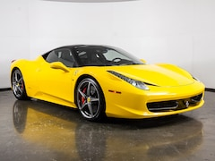 Pre-Owned 2011 Ferrari 458 Italia Coupe in Plano, TX