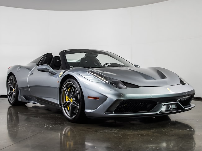 Used 2015 Ferrari 458 Speciale A Convertible For Sale Plano, Texas