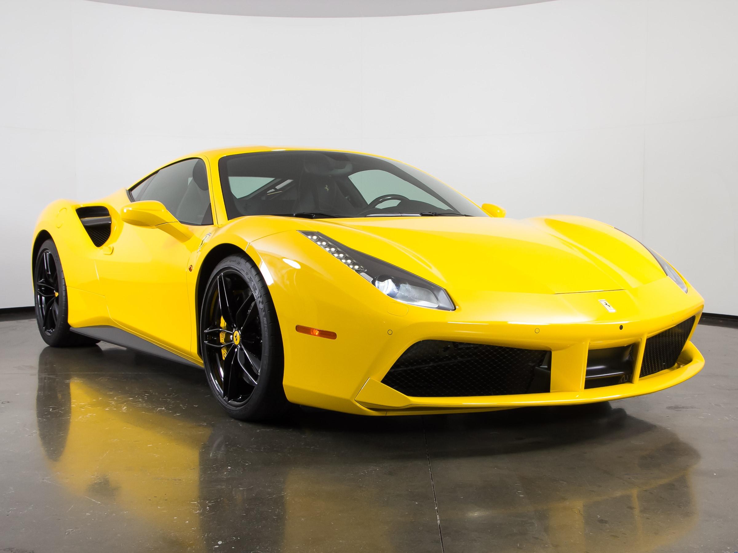Ferrari 488 Gtb >> Used 2017 Ferrari 488 Gtb For Sale Plano Tx Vin Zff79ala5h0226174