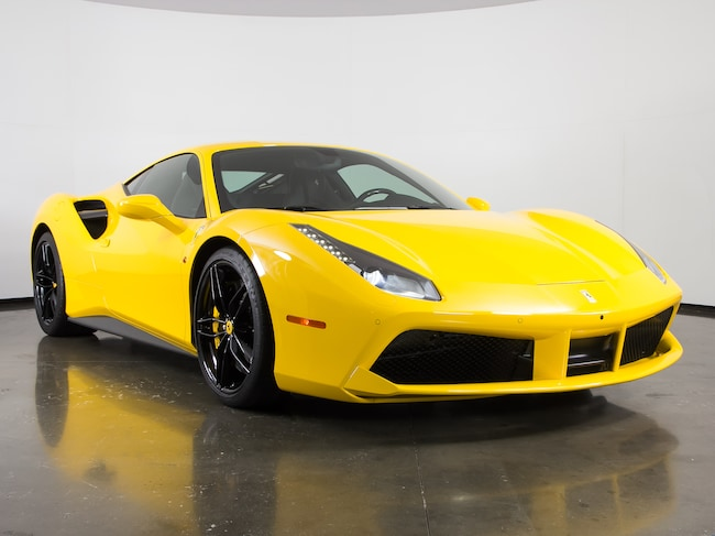 Certified Pre-Owned 2017 Ferrari 488 GTB Coupe For Sale Plano, Texas