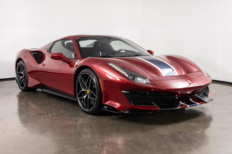 Used 2020 Ferrari 488 Pista Spider For Sale Plano Tx Vin Zff91hma6l0252573