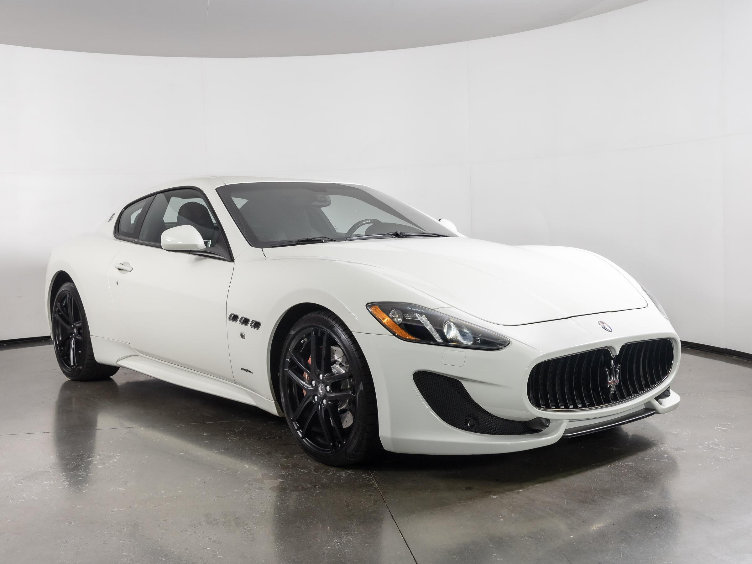2016 Maserati GranTurismo Coupe