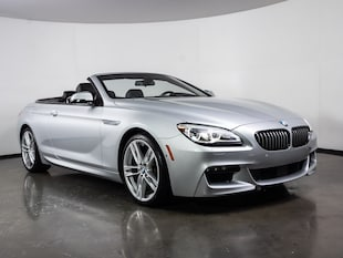 2016 BMW 650i M Package Convertible