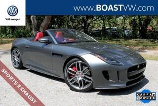 Used 2017 Jaguar F-TYPE R w/Sports Exhaust and Vision Pkg Convertible for Sale in Bradenton at Boast Volkswagen
