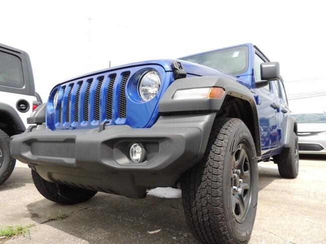 New 2018 Jeep Wrangler UNLIMITED SPORT 4X4 Sport Utility Frankfort