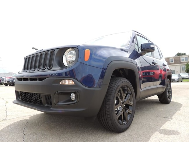 New 2018 Jeep Renegade ALTITUDE 4X4 Sport Utility Frankfort