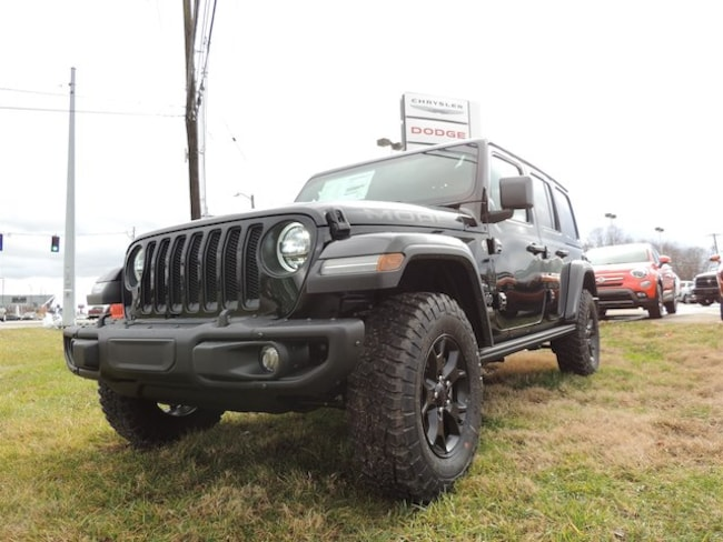 New 2019 Jeep Wrangler UNLIMITED MOAB 4X4 Sport Utility Frankfort