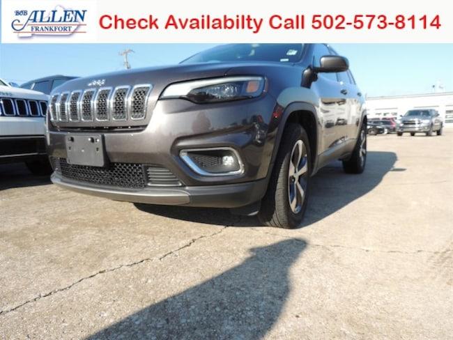 Used 2019 Jeep Cherokee Limited 4x4 SUV Frankfort