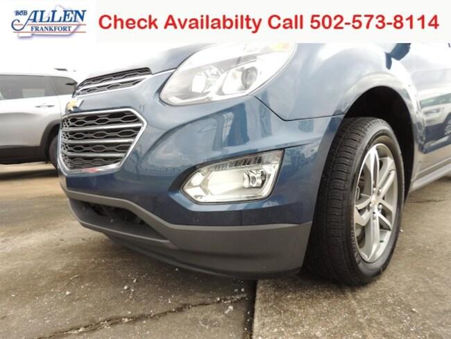 Used 2017 Chevrolet Equinox Premier SUV Frankfort