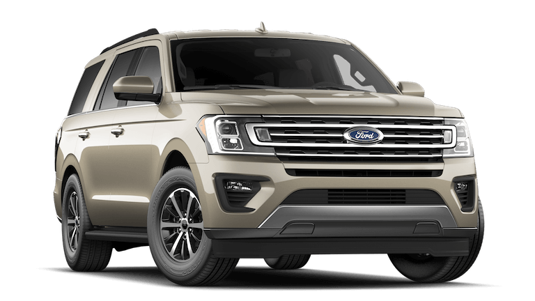 A gold 2020 Ford Expedition