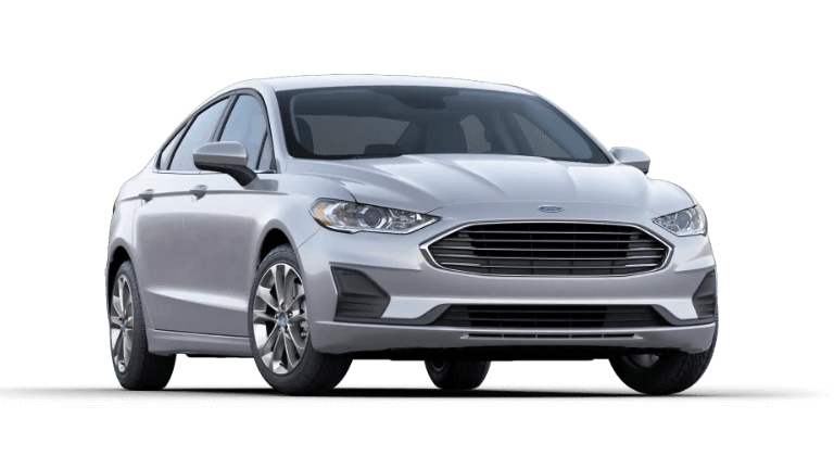 A silver 2020 Ford Fusion