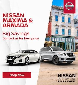 Nissan Maxima & Armada