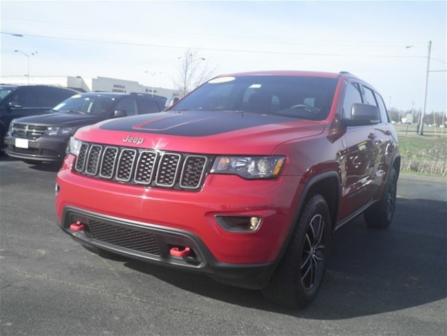 Used 2017 Jeep Grand Cherokee For Sale Danville Ky Vin