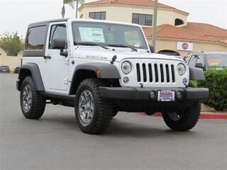 New 2017 Jeep Wrangler Rubicon 4x4 SUV near San Diego, CA