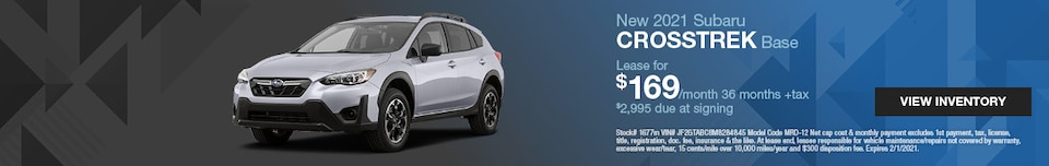 New 2021 Subaru Crosstrek Base