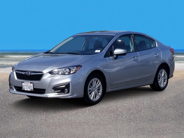 Used 2017 Subaru Impreza Premium Sedan Carlsbad