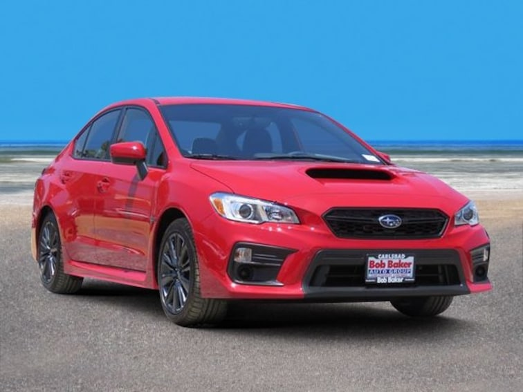New 2019 Subaru WRX Sedan Carlsbad