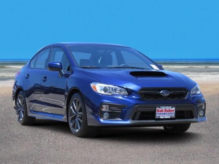 New 2018 Subaru WRX Premium Sedan Carlsbad