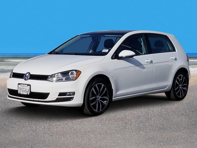 Certified Pre-Owned 2016 Volkswagen Golf TSI SE Hatchback Carlsbad