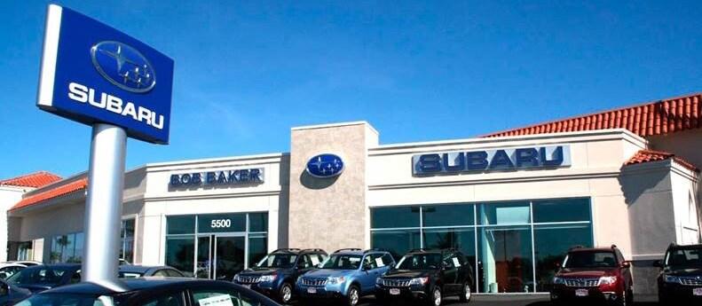 Bob Baker Subaru Carlsbad New Used Car Dealership